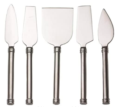 Set of 5 Cheese Knives