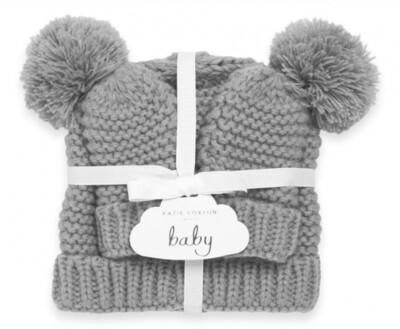 Baby Hat & Mittens Set