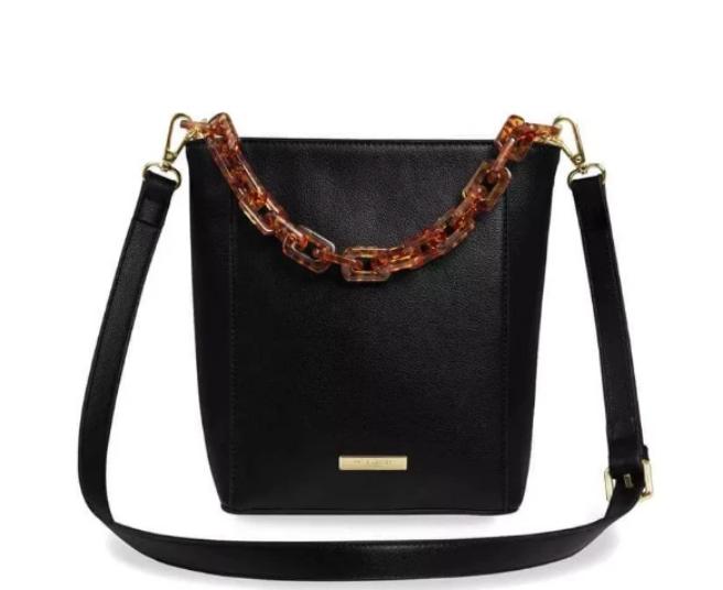 Ayla Tortoiseshell Strap Bag