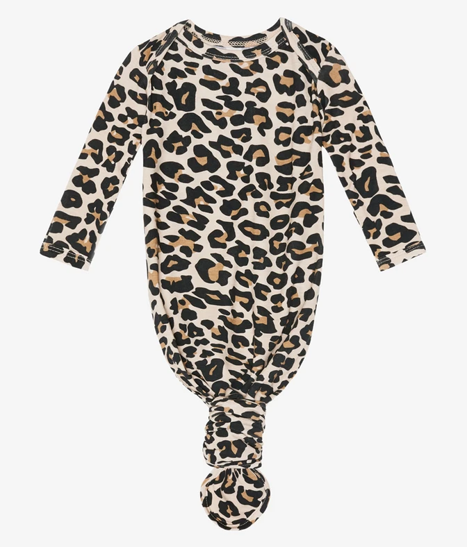 Lana Leopard - Knotted Gown
