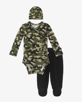 Cadet - Kimono/Footie Pants/Beanie Set