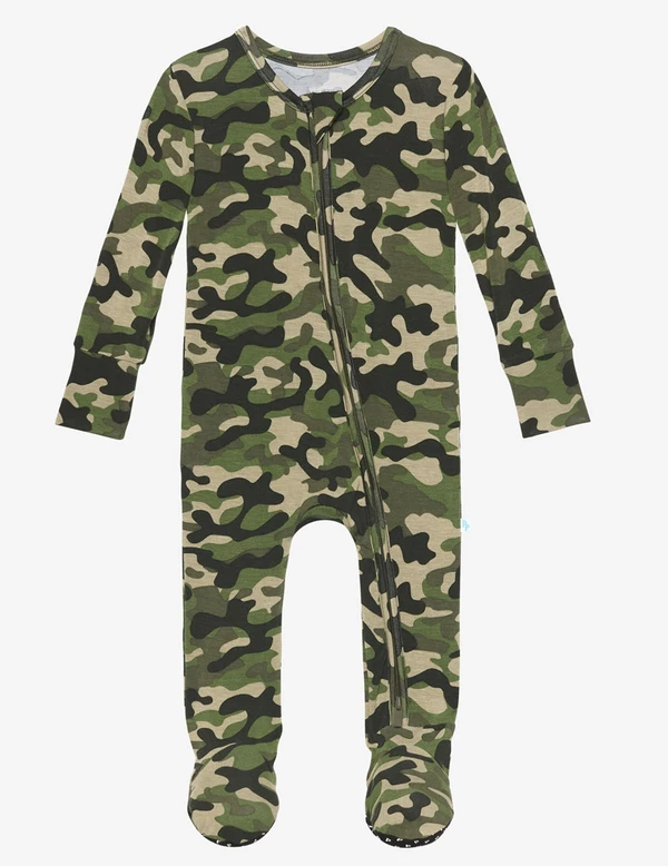 Cadet - Footie Zippered One Piece