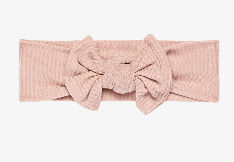 Ribbed Sweet Pink - Infant Headwrap
