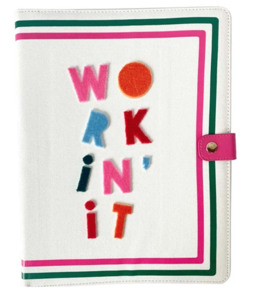 Workin' It Padfolio