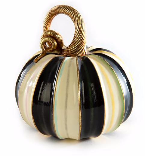 Elegant Stripe Pumpkin - Small