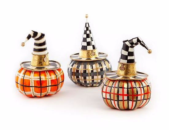 Autumn Spice Capiz Pumpkins - Set of 3