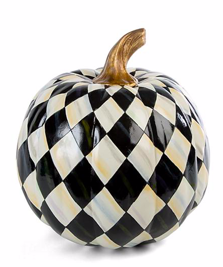 Courtly Harlequin Pumpkin