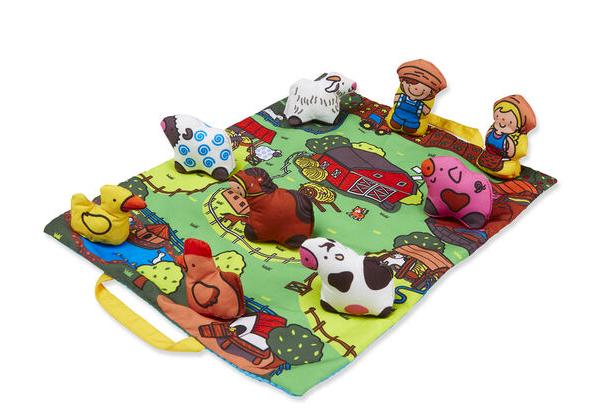 Take-Along Farm Play Mat #9216