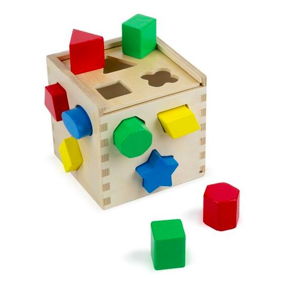Shape Sorting Cube #575