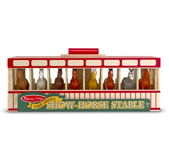 Take-Along Show-Horse Stable #3744