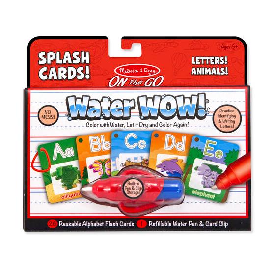 Water Wow - Splash Cards Alphabet #5236