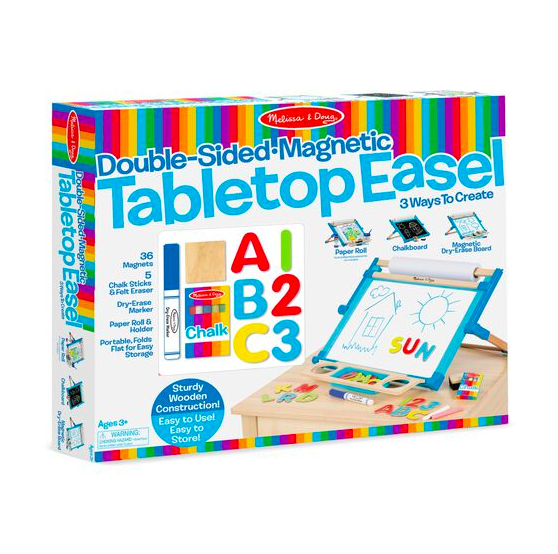 Double-sided Magnetic Tabletop Easel #2790