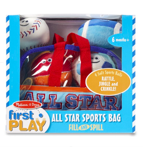 Sports Bag Fill/Spill #3053