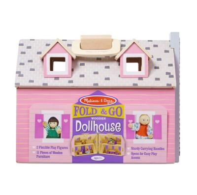 Fold & Go Dollhouse #3701