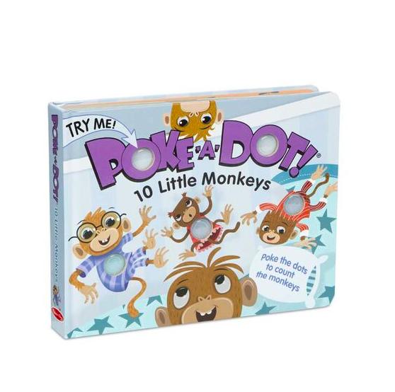 Poke-A-Dot: 10 Little Monkeys #31345