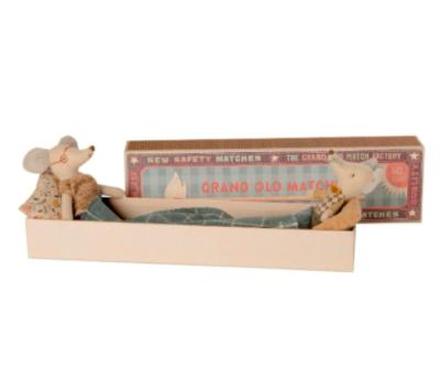 Mice - Grandpa & Grandma in Matchbox