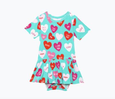 Valerie - Short Sleeve Basic w/ Twirl Skirt