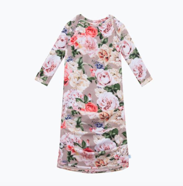 Cassie - Basic Zippered Gown