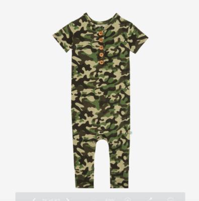 Cadet - Short Sleeve Henley Romper