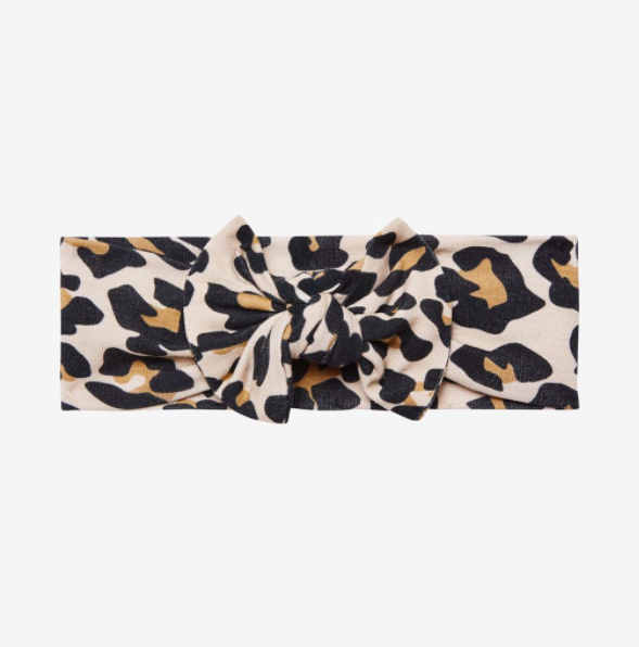 Lana Leopard Tan - Infant Headwrap