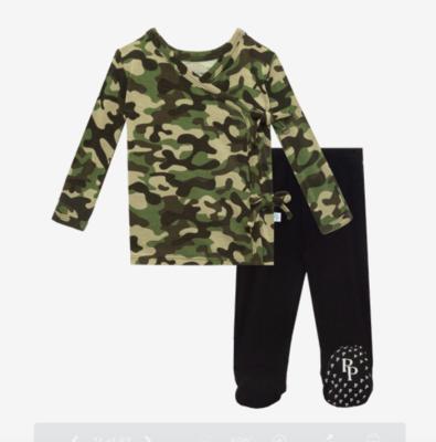 Cadet - Tie Front Kimono