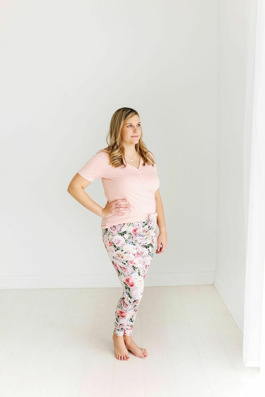 Cassie - Women Short Sleeve Loungewear