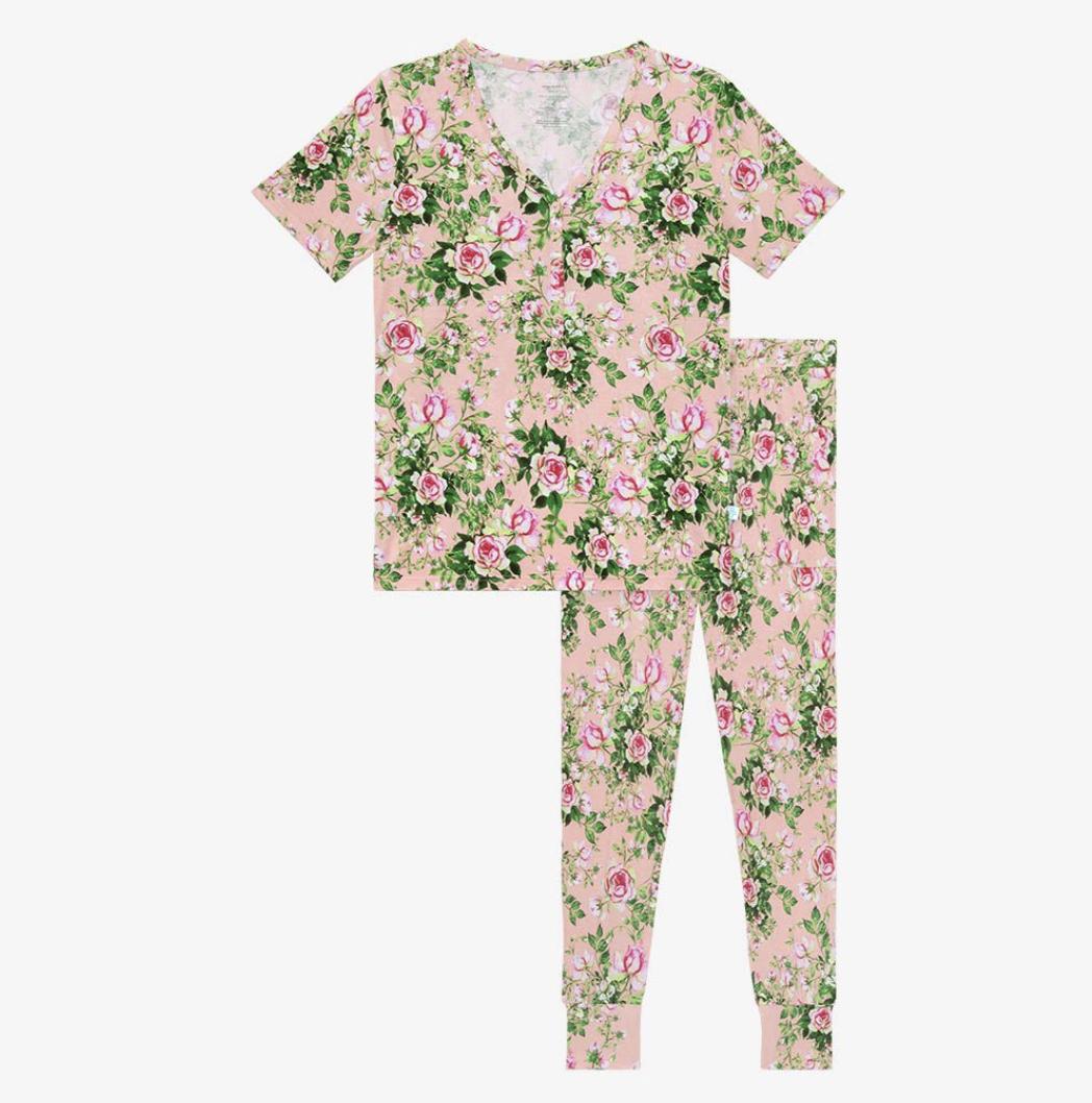 Renia - Women Short Sleeve Pajamas