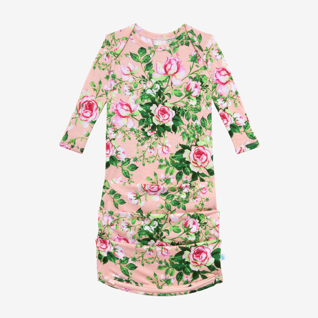 Renia - Basic Zippered Gown