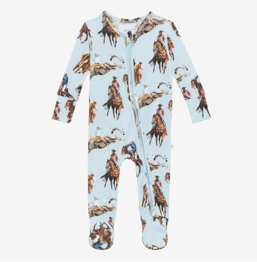 Brody - Footie Zippered One Piece