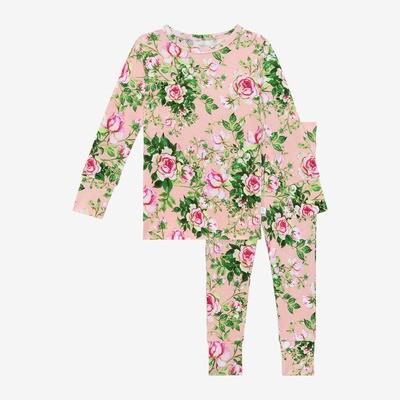 Renia - Long Sleeve Basic Pajamas