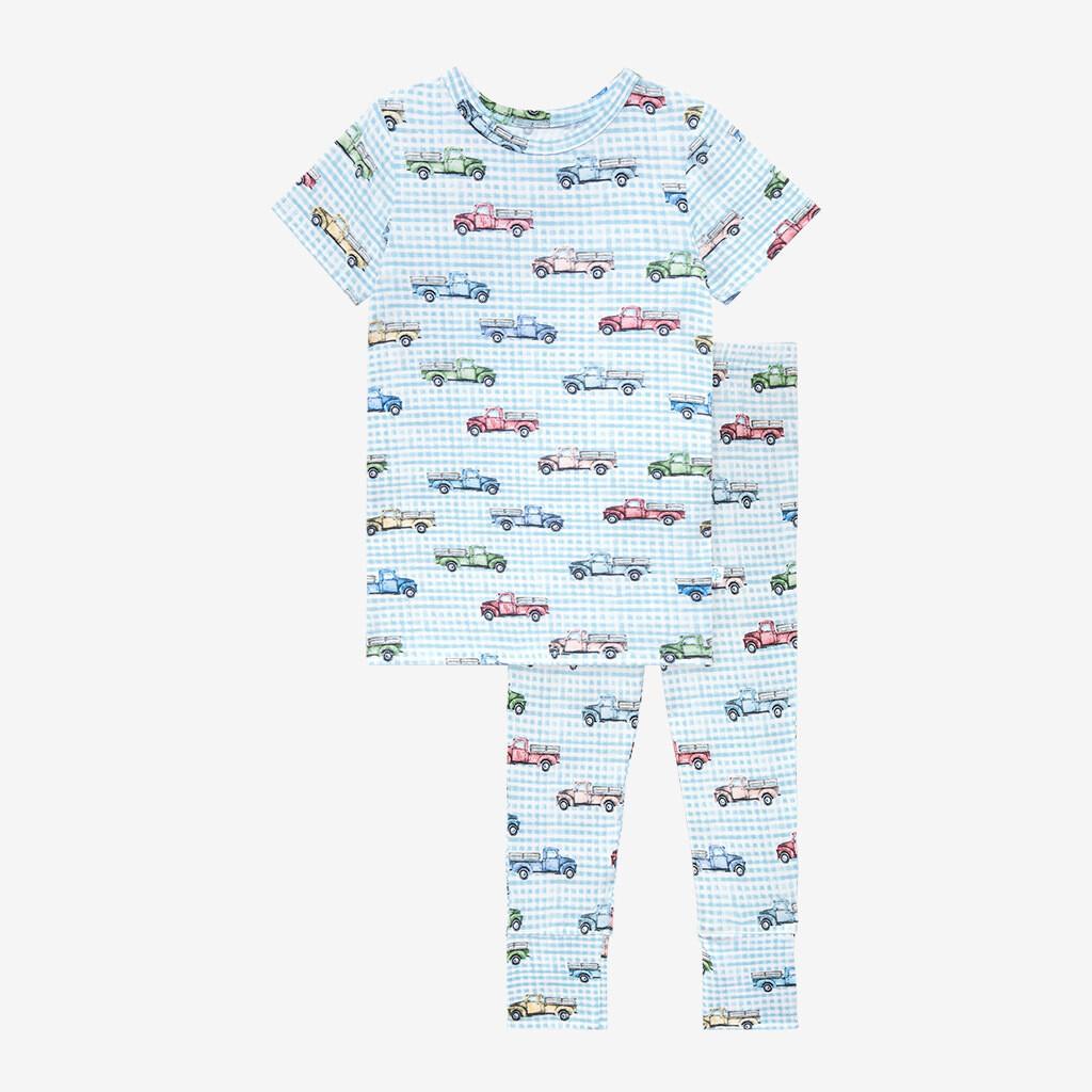 Redford - Short Sleeve Basic PJs