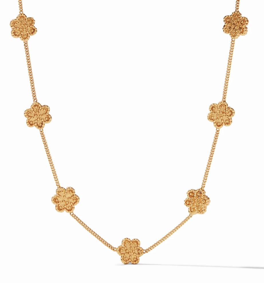 Colette Delicate Station Necklace Gold #N365G00