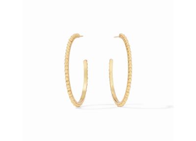 Colette Bead Hoop Gold