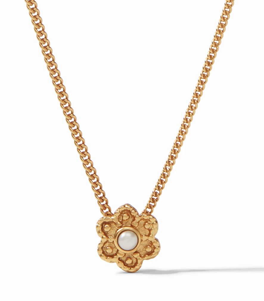 Colette Delicate Necklace Gold Pearl #N364GPL00