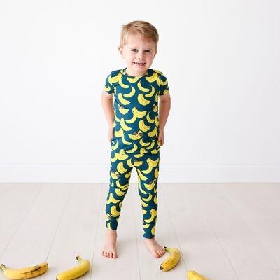 Bananas - Short Sleeve Basic Pajama