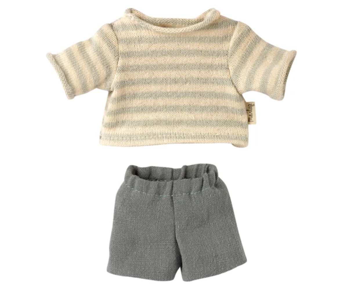 Blouse and Shorts for Teddy Junior #16-1822-00