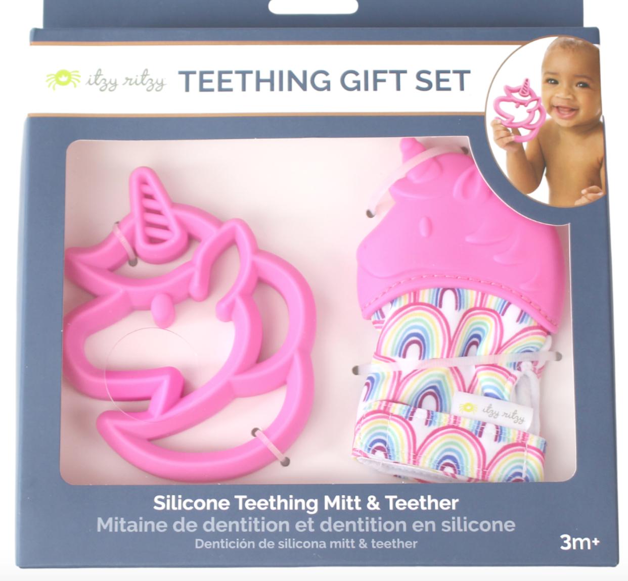 Unicorn Teething Gift Set