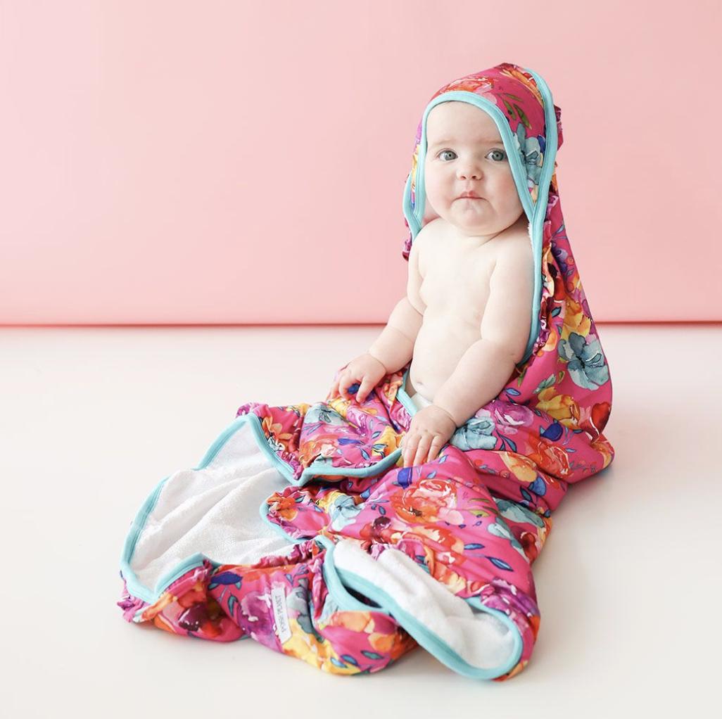 Aminatu - Ruffled Hooded Towel