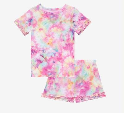 Joplin - Short Sleeve Micro Ruffled T-shirt & Shor