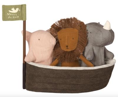 Noah's Ark with 3 Animals #16-8956-00
