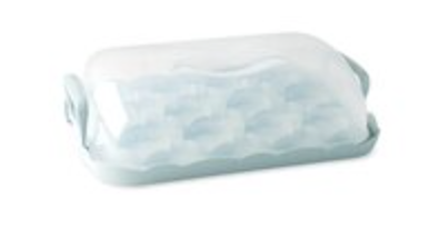 MB Rectangle Cupcake Carrier #88857