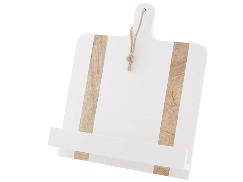 White Cookbook Holder #40980001