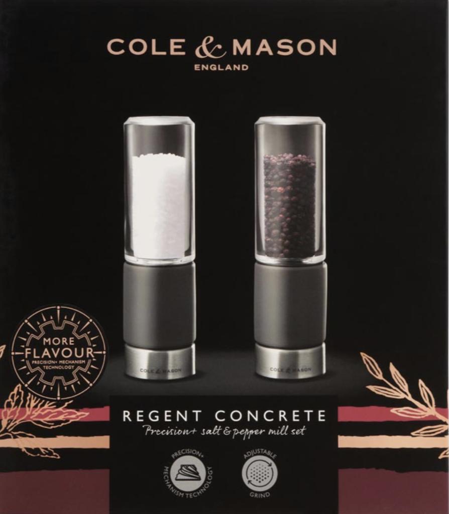 Regent Concrete Salt & Pepper Set