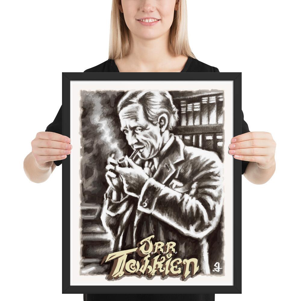 16x20 J.R.R. TOLKIEN FRAMED POSTER