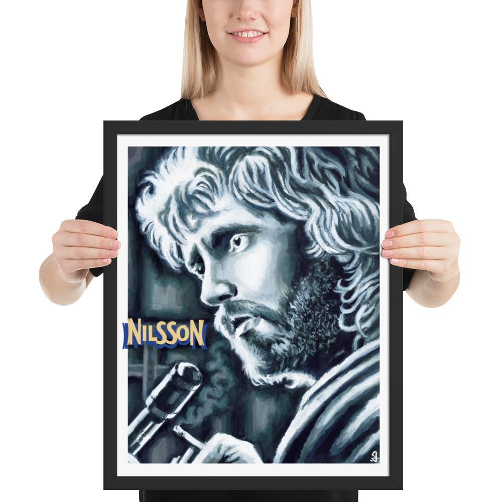 16x20 NILSSON FRAMED POSTER