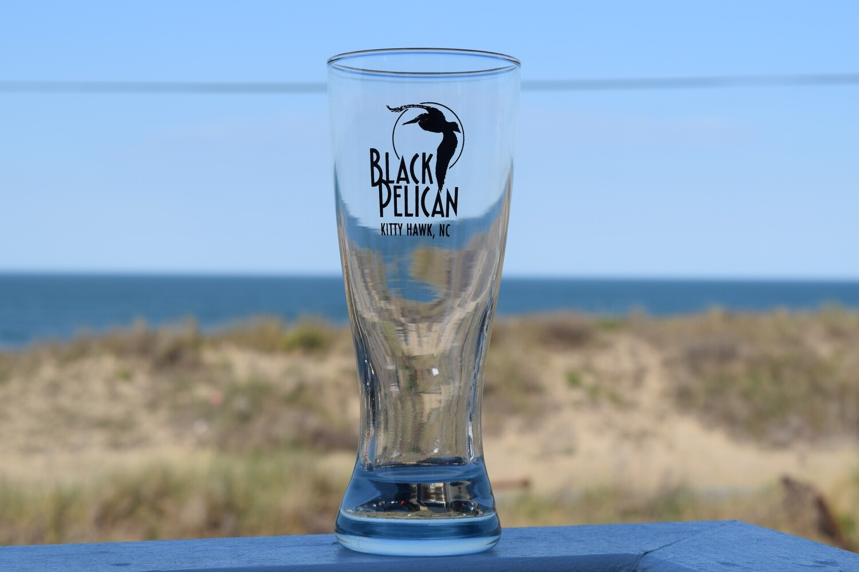 Black Pelican Pilsner Glass- 12oz