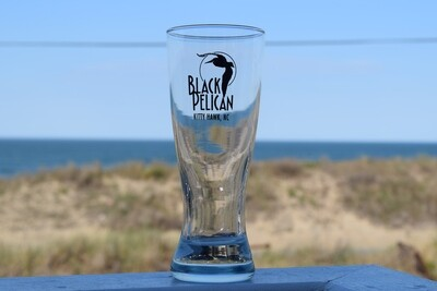 Black Pelican Pilsner Glass- 12oz