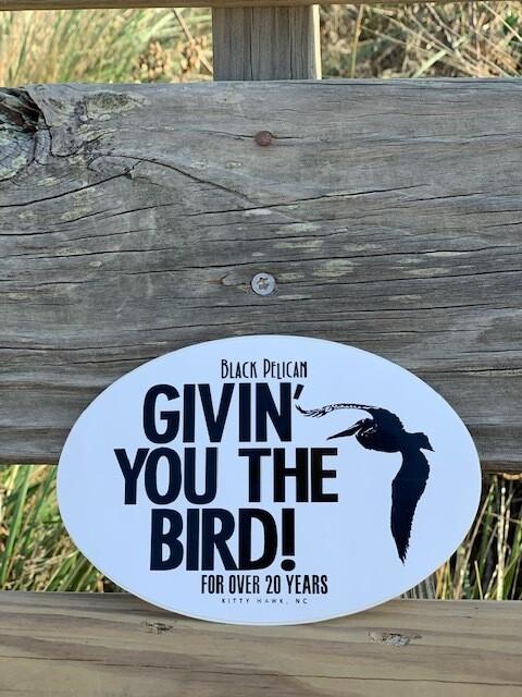 Givin' You The Bird Sticker