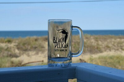 Black Pelican Beer Mug- 16oz