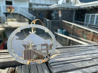 Black Pelican Building- Limited Edition Ornament